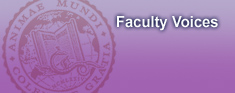 banner | Faculty Voices