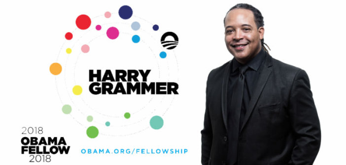 Harry Grammer, PGIAA ALUM Name to Inaugural Class of The Obama Foundation Fellows