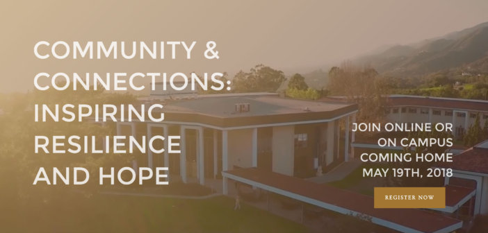 """Virtual Coming Home 2018 """"Community & Connections: Inspiring Resilience & Hope"""""""