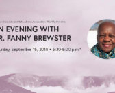 PGIAA Presents 'An Evening with Dr. Fanny Brewster'