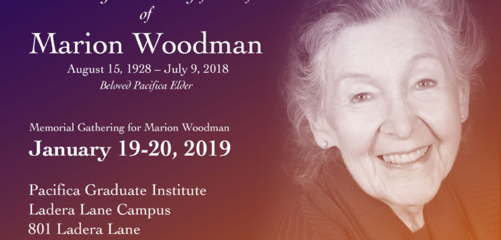 Celebrating Marion Woodman