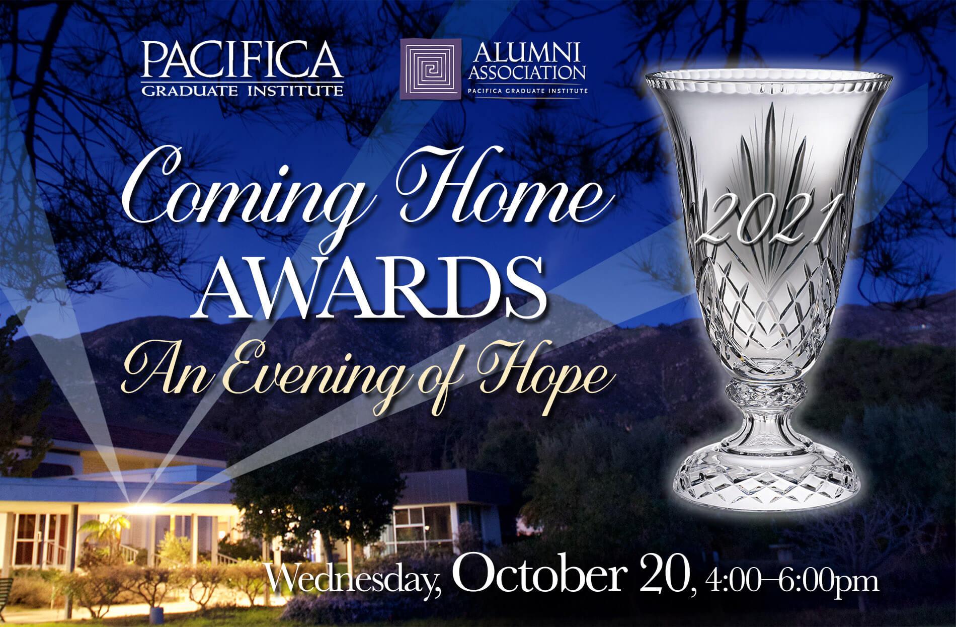 2021 Coming Home Awards Celebration!
